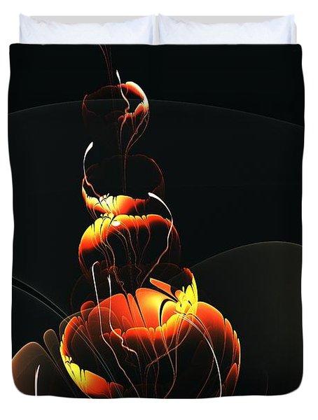 In The Dark Duvet Cover by Anastasiya Malakhova