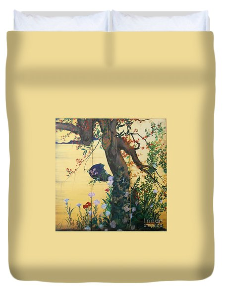 In The Garden Duvet Cover