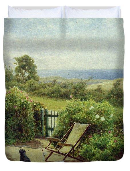 In The Garden Duvet Cover by Thomas James Lloyd