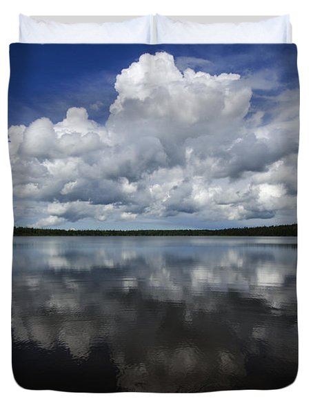 In The Good Old Summertime  Duvet Cover by Bob Christopher