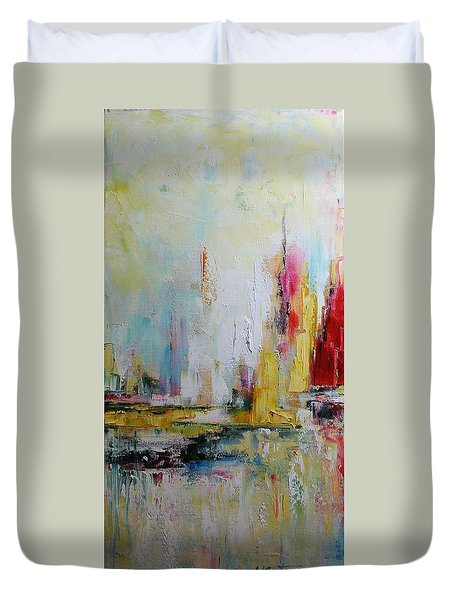 In The Harbour Duvet Cover