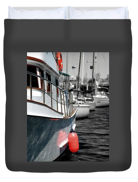 In The Lead Duvet Cover