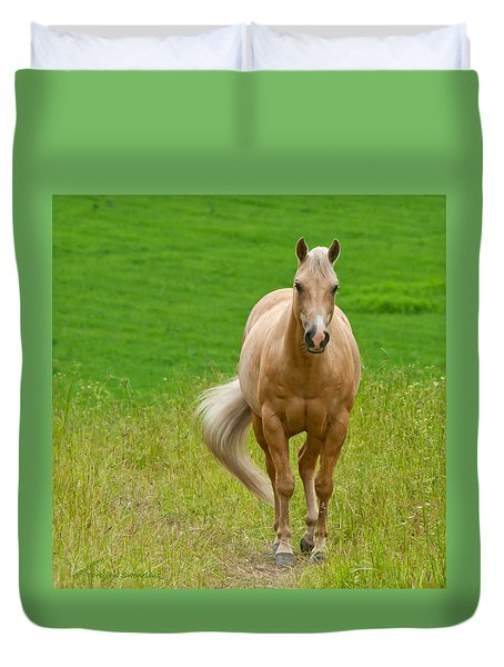 In The Meadow Duvet Cover