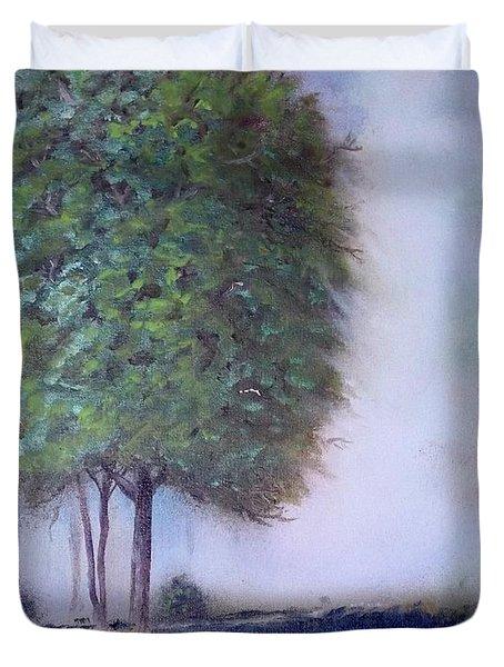 In The Mist Duvet Cover