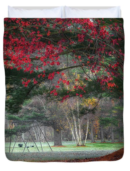 In The Park Duvet Cover by Bill Wakeley