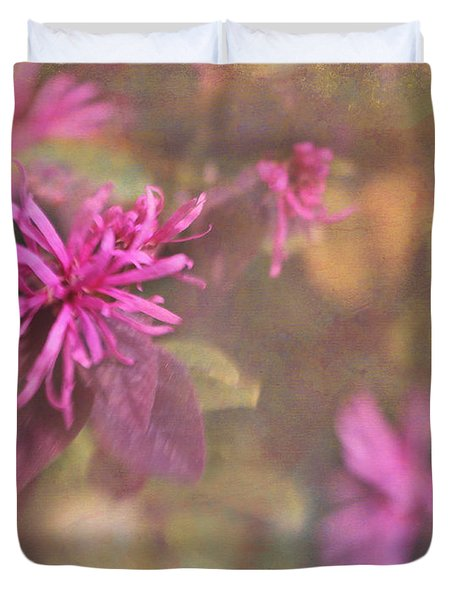 In The Pink Duvet Cover by Judi Bagwell