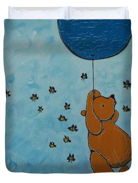 In The Pursuit Of Honey Duvet Cover