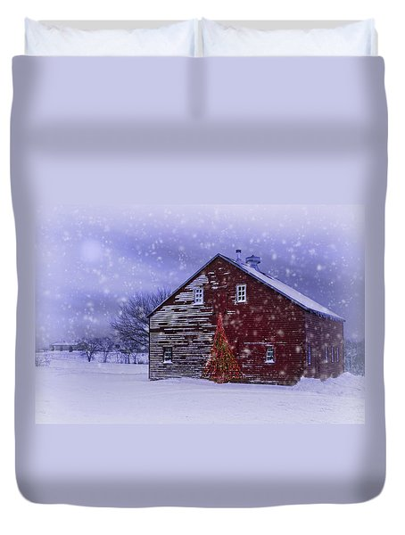 In The Still Of The Night Duvet Cover