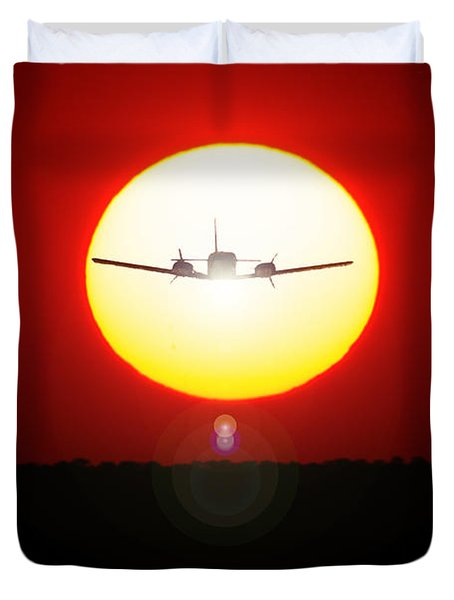 Duvet Cover featuring the photograph In The Sun by Paul Job
