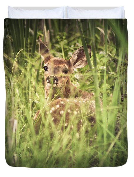 In The Tall Grass Duvet Cover