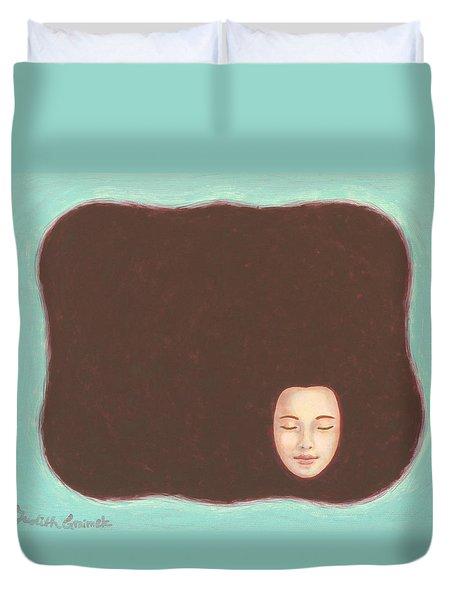 In The Void Duvet Cover by Judith Grzimek