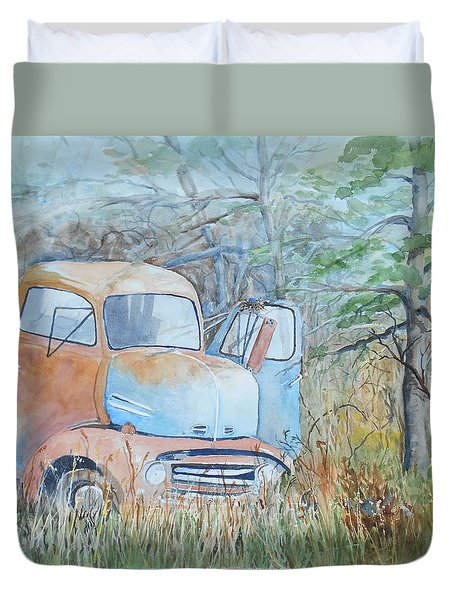 In The Weeds Duvet Cover