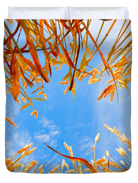 In The Wheat Duvet Cover by Alexey Stiop