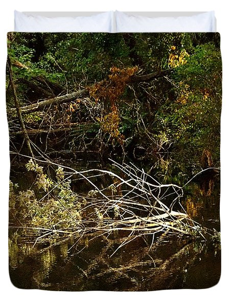 In The Wild Wood Duvet Cover by RC deWinter
