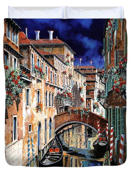 Inchiostro Su Venezia Duvet Cover