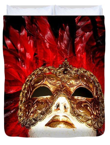Incognito.. Duvet Cover by Jolanta Anna Karolska