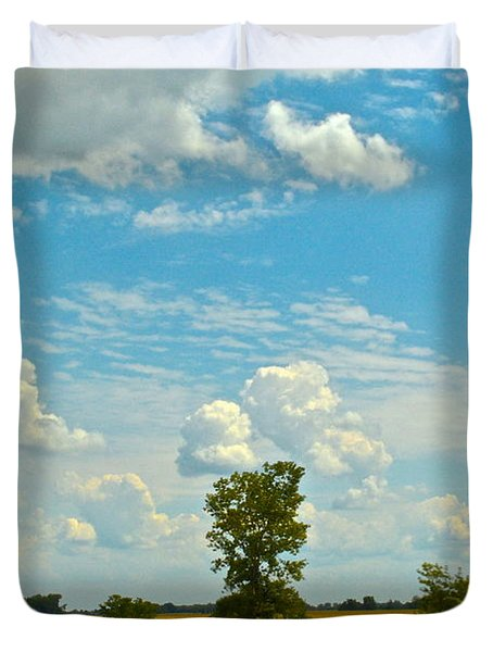Incoming Duvet Cover by Frozen in Time Fine Art Photography