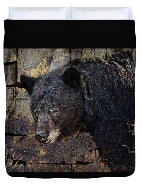 Inconspicuous Bear Duvet Cover