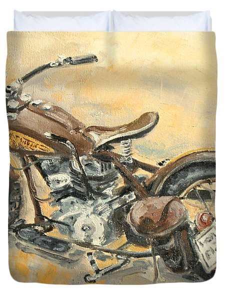 Indian Chief 1938 Duvet Cover