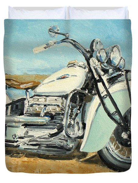 Indian Four 1941 Duvet Cover