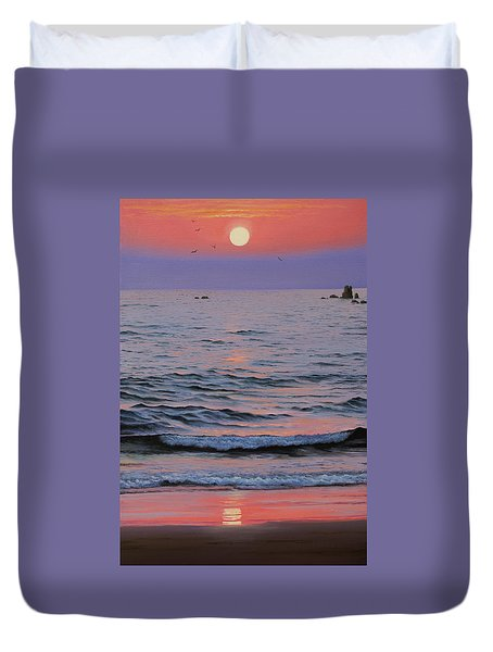 Indian Ocean Duvet Cover
