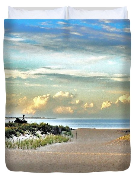 Indian River Inlet - Delaware State Parks Duvet Cover