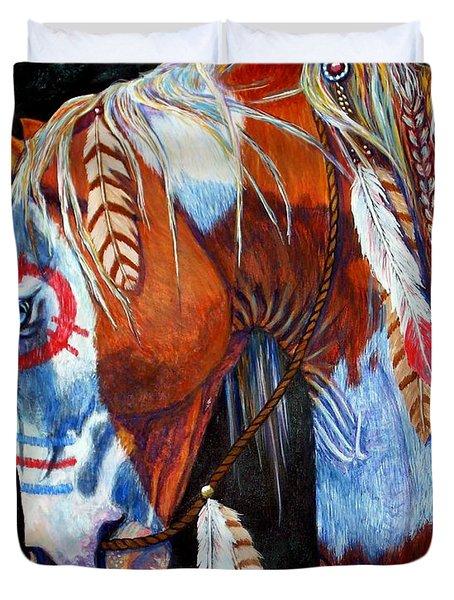 Indian War Pony Duvet Cover
