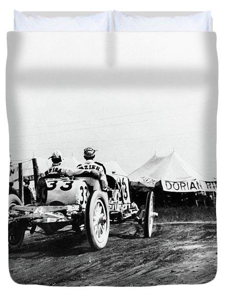 Indianapolis 500, 1911 Duvet Cover