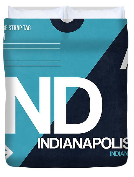 Indianapolis Airport Poster 2 Duvet Cover