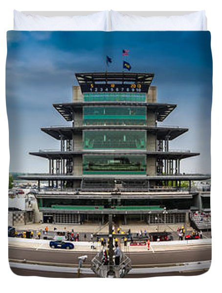 Indianapolis Motor Speedway Duvet Cover