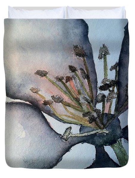 Indigo Duvet Cover by Sherry Harradence