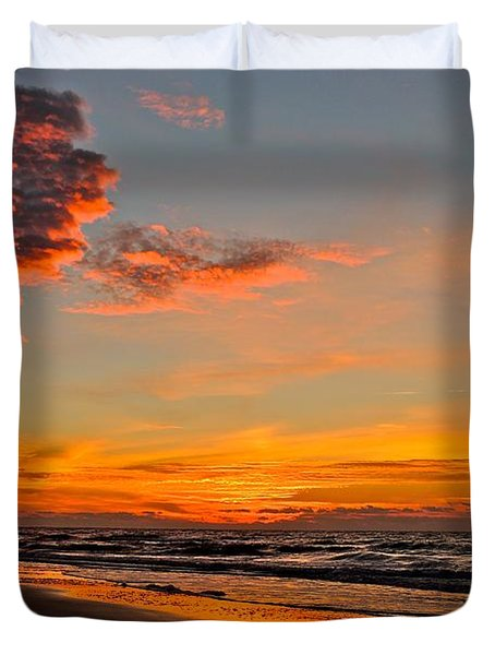 Inferno Sky Duvet Cover