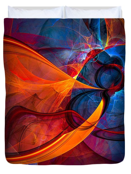 Infinity - Abstract Art Duvet Cover