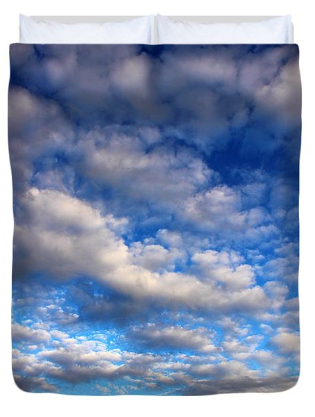 Influence Of Dusk Duvet Cover by Michael Eingle