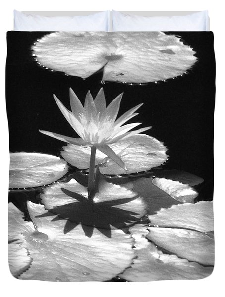 Infrared - Water Lily 02 Duvet Cover