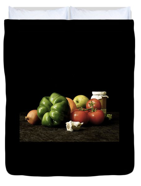 Ingredients Duvet Cover by Elf Evans
