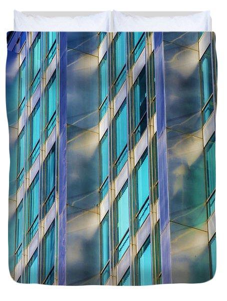 Inland Steel Building Duvet Cover