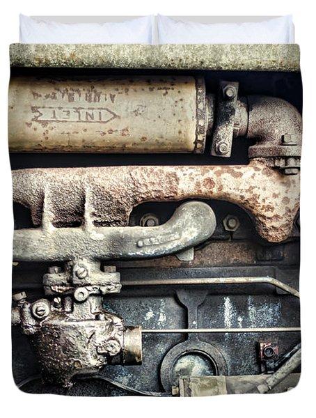 Innards Duvet Cover by Heather Applegate