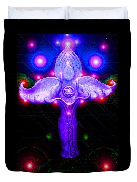 Inner Galactic Symphonics Duvet Cover