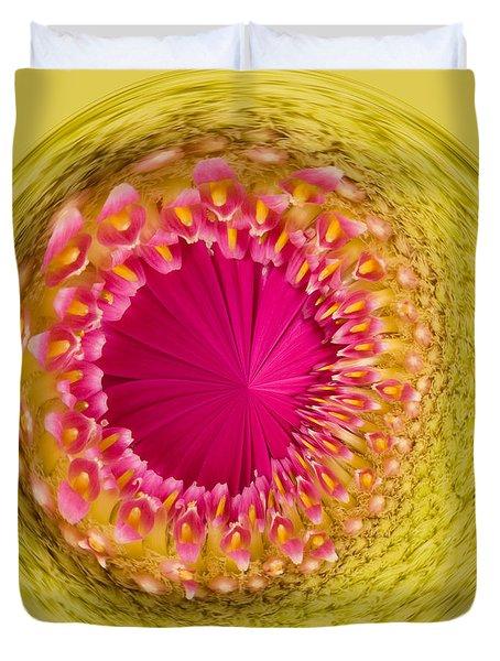 Inner Gerbera Duvet Cover by Anne Gilbert