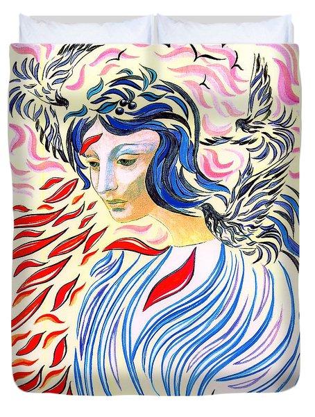 Inner Peace Duvet Cover