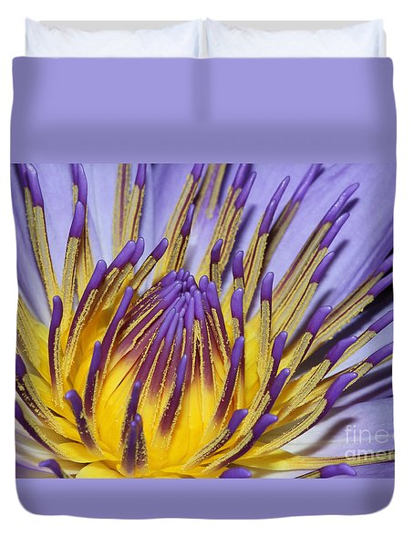 Duvet Cover featuring the photograph Inner Sanctum by Judy Whitton