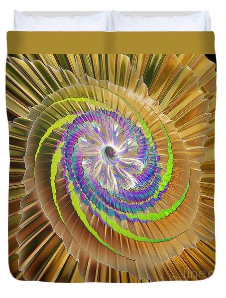 Inner Twister Duvet Cover by Deborah Benoit