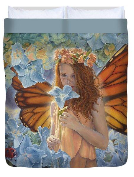 Innocence Duvet Cover by Lucie Bilodeau