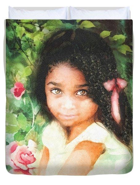 Innocence Duvet Cover by Mo T