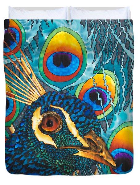 Insane Peacock Duvet Cover