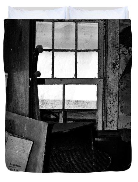 Inside Abandonment 2 Duvet Cover by Tara Lynn