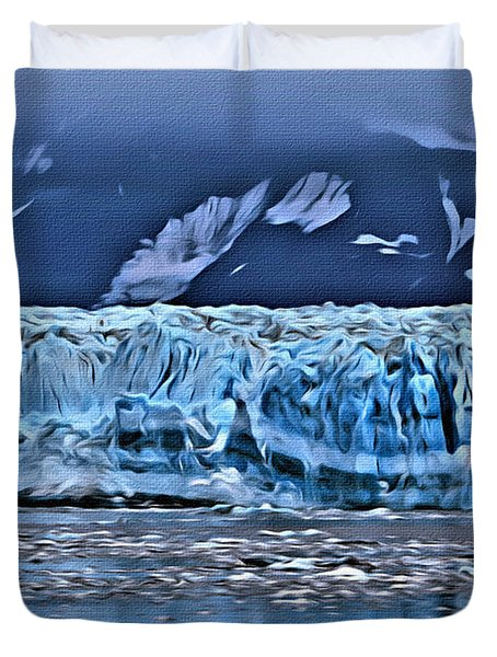 Inside Passage Duvet Cover