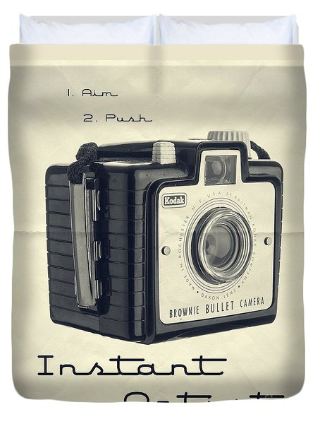 Instant Artist Duvet Cover by Edward Fielding