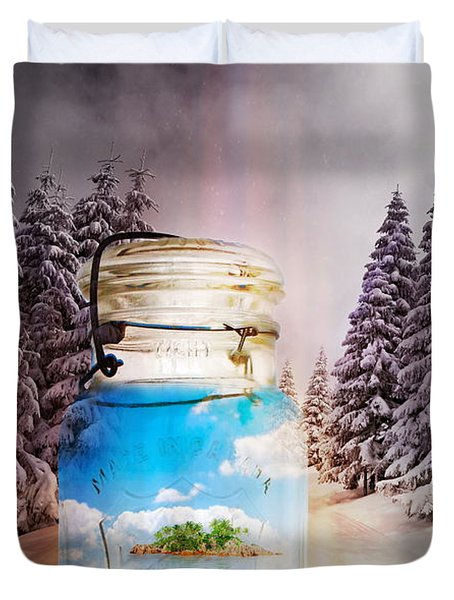 Instant Getaway  Duvet Cover by Terry Fleckney